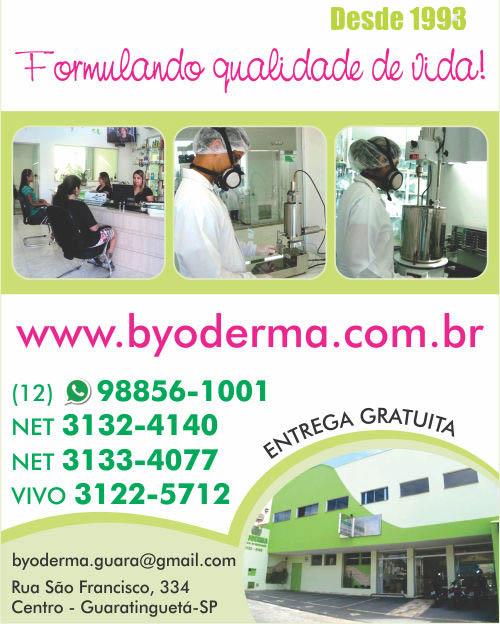 Farmácia de Manipulação em Guaratinguetá | Byoderma